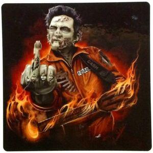 JOHNNY CASH  POP ROCK  ROCKABILLY DECAL STICKER  RAT ROD HOT ROD CHOPPERS