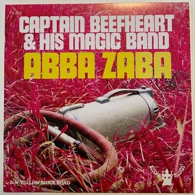 "Captain Beefheart Abba Zaba b/w Yellow Brick Road RSD 7"" Vinyl Single 2012 NEW"