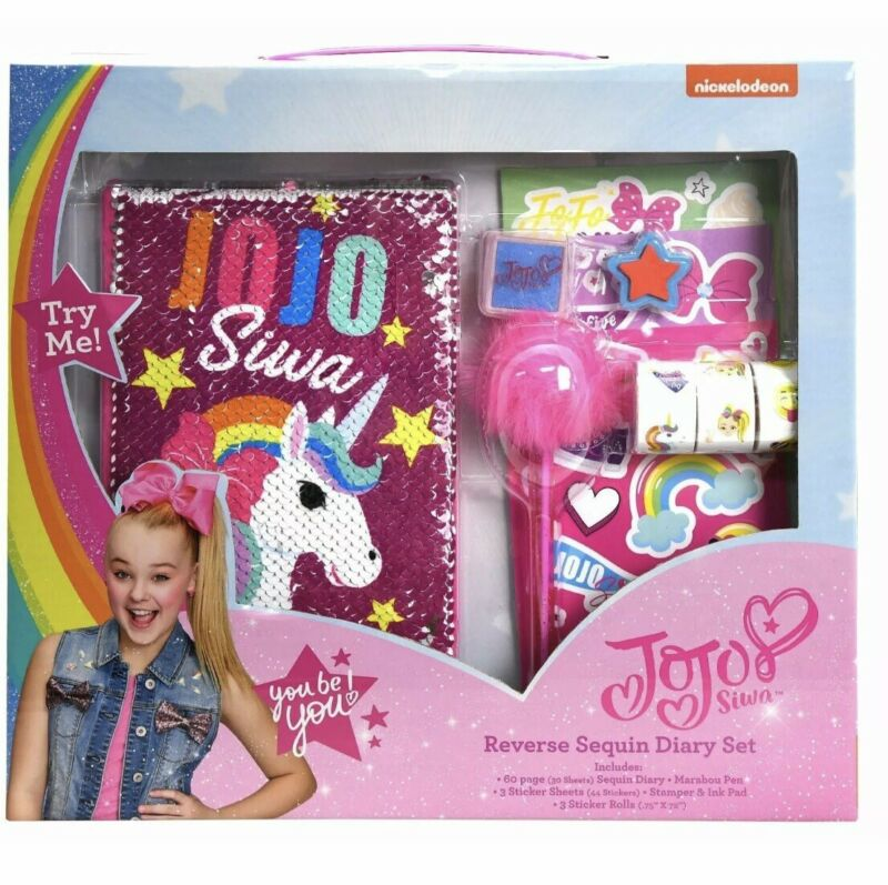 JoJo Siwa Reversible Sequin Diary Set