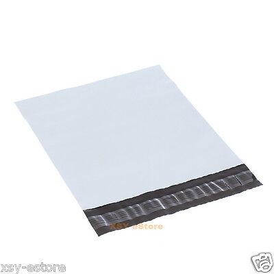 300 PCS White Poly Envelopes Pouches Plastic Mailing Bags 6