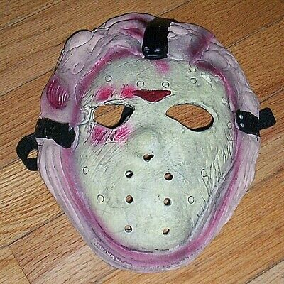 Jason Voorhees Child Size Costume VINTAGE - SHIRT & MASK ONLY NO MACHETE