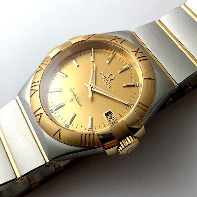 Omega Constellation Quartz Two Tone Watch 12320356008001