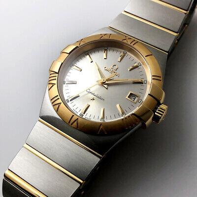 Omega 123.20.35.60.02.002 Constellation Quartz Two Tone Watch