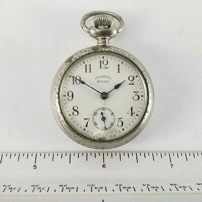 Antique Pocket Watch Restoration Ingersoll Midget 1900s No Operable