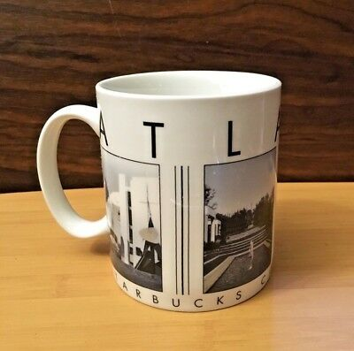 Atlanta Starbucks Coffee Company Cup Mug - 2003 Barista City Scenes Series](Party City Atlanta)