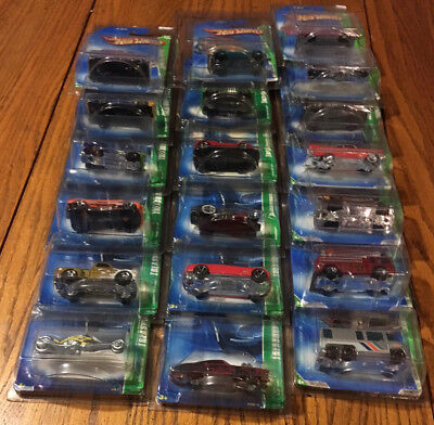 HOT WHEELS TREASURE HUNTS  2001,2003, 2004, 2005, 2007, 2008, 2009, 2010, 2012