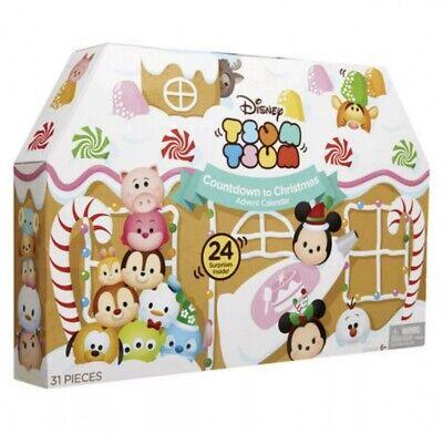 New Disney Tsum Tsum Countdown To Christmas Advent Calendar (31 pcs)