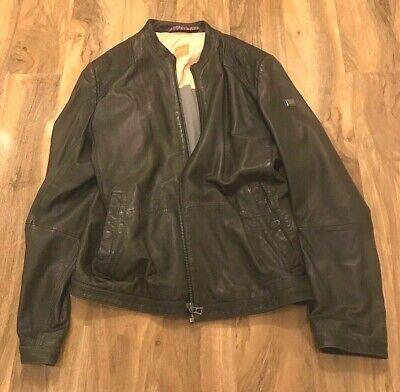 Mens Hugo Boss  leather jacket