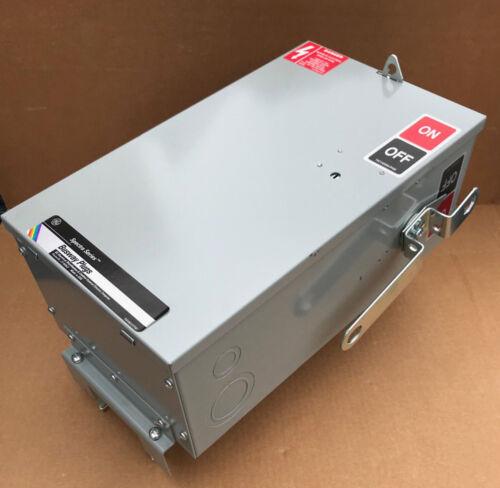 SB363R GE General Electric 100 Amp 600V 3 Pole 3Wire Case Ground SB Bus Plug New