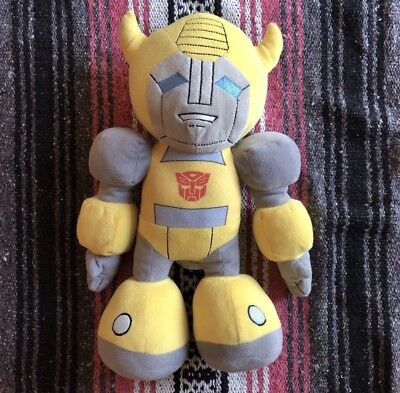 "Transformers Bumblebee Universal Studios 16"" Plush Toy Autobot Collectible"
