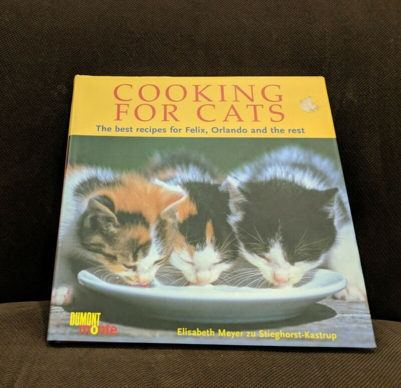 Cooking for Cats 60 Healthy Recipes Meals Elisabeth Meyer zu Stieghorst-Kastrup
