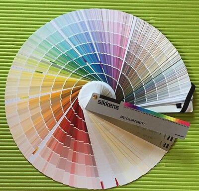 Sikkens 5051 Color Farbfächer Neu und OVP