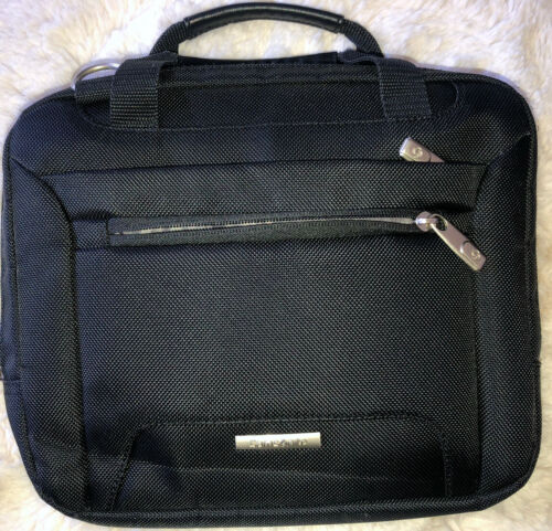 Samsonite Bag Briefcase Carry On Business Overnight Travel Tote Luggage Black - $19.95