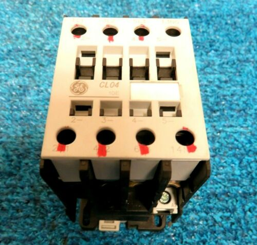 GE General Electric CL04A310M Contactor 110V-120V 50/60Hz