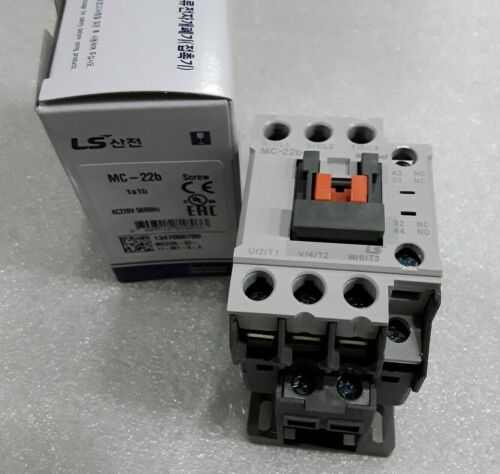 MC-022b/3-220 LS METASOL CONTACTOR SCREW 3P AC220V 50/60HZ 1A1B (NEW IN BOX)