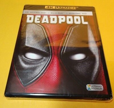 Deadpool (4K UHD+Blu-ray/Digital) NEW - Free Shipping with Tracking
