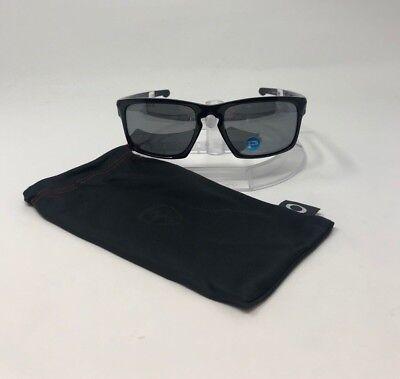 100% Authentic Oakley Sliver Rectangular Polished Black/Gray Polarized OO9262-09
