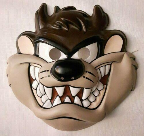 Vintage Tazmanian Devil Mask Halloween Costume 1994 Warner Brothers