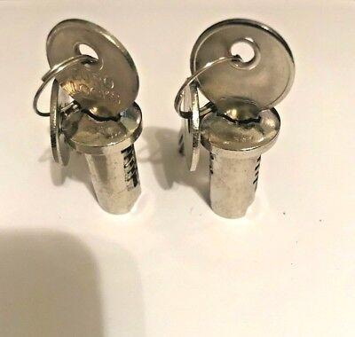 2 Locks Keys For Gumball Machine Vending Machine Acorn Nw Oak Eagle And More