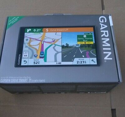 "New Garmin DriveSmart 71 EX with Traffic 6.95"" Display BLUETOOTH GPS Navigator"