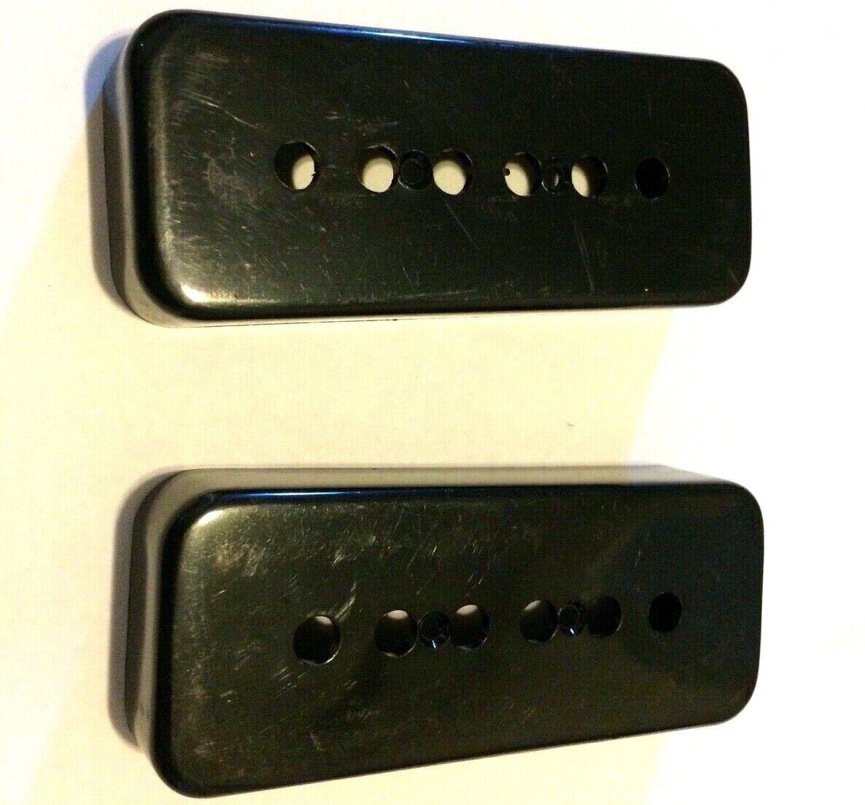 Lindy Fralin 5/% Overwound P-90 Gibson Soapbar Pickup Set P90 Black