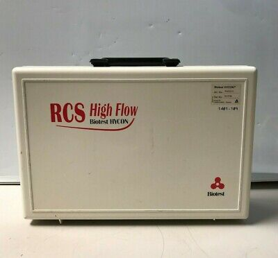 Biotest Hycon Rcs Plus Air Sampler 940210 With Case And Remote 1