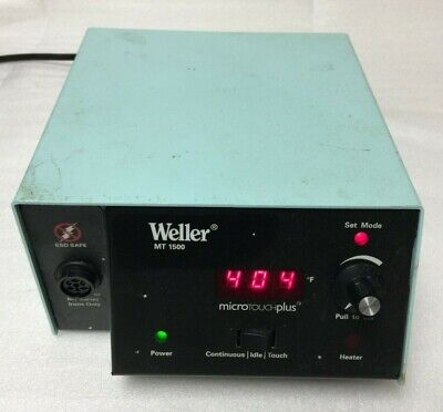 Weller Mt1500 Microtouch Plus Soldering Station