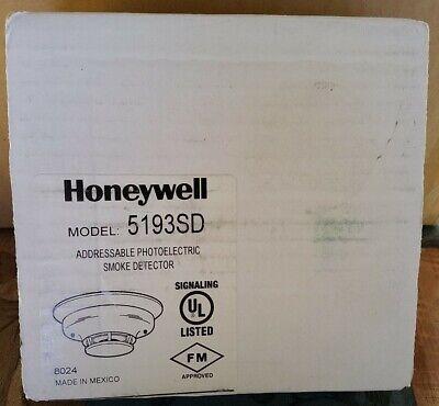 Honeywell 5193sd Addressable Photoelectric Smoke Detector Nib