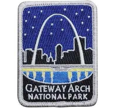 Gateway Arch National Park Patch - World's Tallest Arch, St. Louis, MO (Iron (Park Gateway)