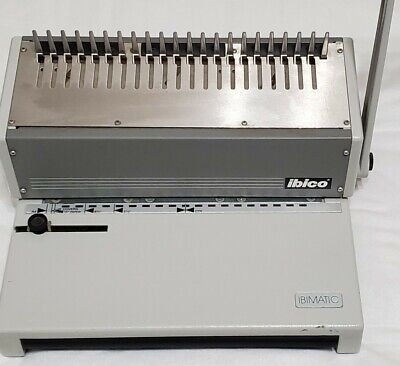 Ibico Ibimatic Heavy Duty Binding And Punch Machine Office Equipment