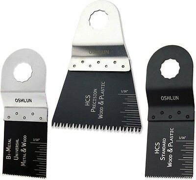 Oshlun Mmr-9903 Oscillating Tool Blade Combo 3-pack Rockwell Sonicrafter