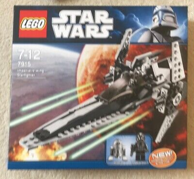 Toy. Lego. Star Wars. Imperial V Wing Starfighter. 7915. Used.
