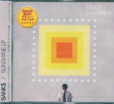 Bank    Sunshine Lp   Japan Cd   New J Pop