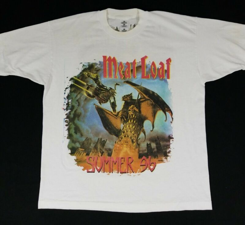 Meat Loaf Welcome to the Neighborhood Summer 96 1996 Concert Tour Shirt Mens XL