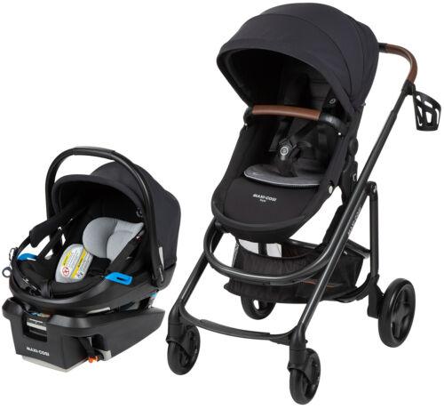 Maxi-Cosi Tayla Travel System Stroller w/ Coral XP Car Seat Essential Black NEW