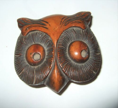 Antique Owl Box