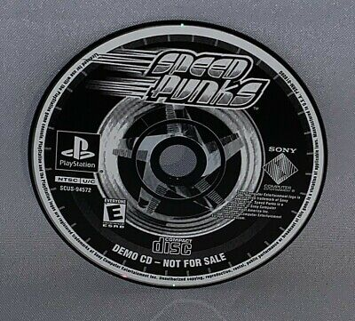 Official Sony Playstation Speed Punks Demo CD Disc Only 2000