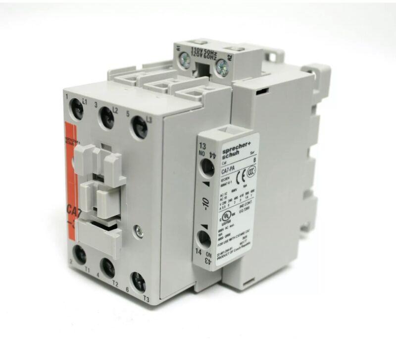 CA7-30-10-120v Coil Sprecher+Schuh Contactor Brand New