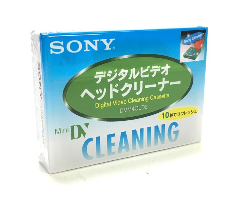 Mini DV Video Head Cleaner Cleaning Cassette Tape For Canon Camcorder