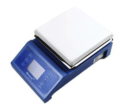 Digital Laboratory Magnetic Stirrer Hotplate W Timer 7x7 Inch 600w 0-1600rpm