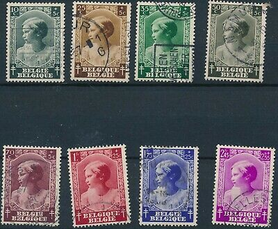 [1841] Belgium 1937 good Set very fine Used Stamps