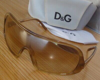 V.Good DOLCE & GABBANA DG 417S 664 sunglasses Mirror Grad.single-lens +Case+C.C.