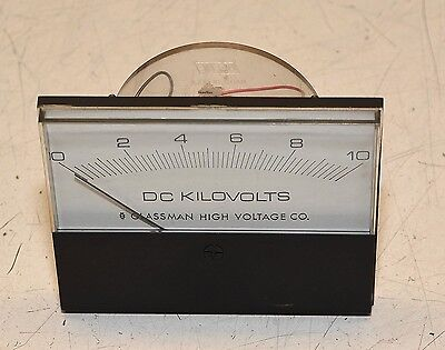 Glassman High Voltage Power Supply Meter Beede