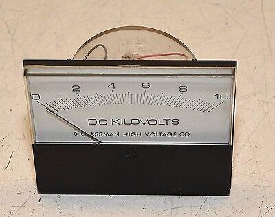 Glassman High Voltage Power Supply Meter Beede