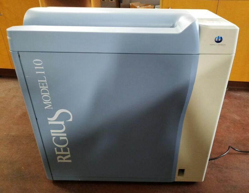 Konica Minolta Medical Regius 110 Compact Single Bay CR Direct Digitizer