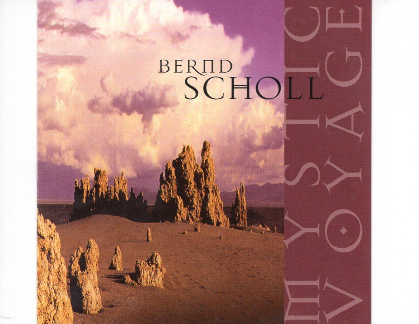 CD BERND SCHOLLmystic voyageNEAR MINT (R0539)