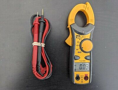 Ideal 61-736 400 Amp Clamp Meter With Leads Ideal Case