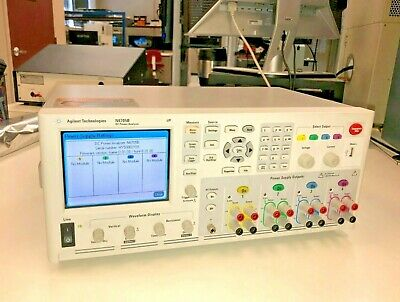 Keysight Agilent N6705b Dc Power Analyzer Supply Tested Good Dmm Scope 600w