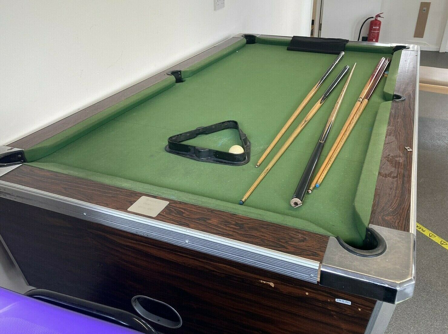 6ft / 7ft Pool Table - used