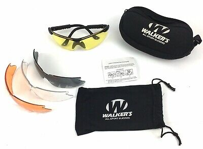 Walkers All Sport Glasses with Multiple Lenses Shooting & Safety (Walkers All Sport Glasses)